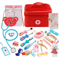 kids Pretend Play Doctor Nurse Injection Medical Kit Role Play Toys for Children