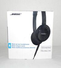 BOSE ON-EAR HEADPHONES CLUB EDITION 715594-0010 BLACK SAMSUNG GALAXY IPHONE IPAD