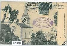 POSTAL HISTORY : BOLIVIA - POSTCARD to ITALY 1928 - SANTIAGO
