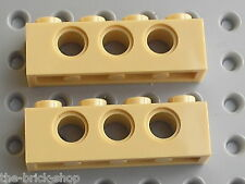 LEGO Tan technic brick 1 x 4 ref 3701 / set 10174 10198 7197 4757 7627 8039 8273
