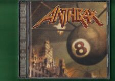 ANTHRAX - VOLUME 8 THE THREAT IS REAL  CD APERTO