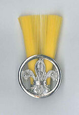 SCOUTS OF ZIMBABWE - SCOUT INSTRUCTOR (YELLOW COLOUR) Metal Plume / Hat Patch
