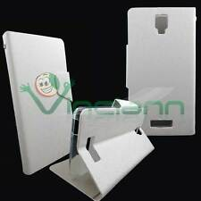 Case FLIP FLAP cover STAND White Pearl for NGM Forward Art panel