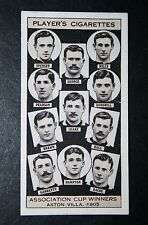 Aston Villa  1905   FA Cup Winning Team   Vintage Card  VGC