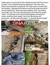 Snake trap [Spider Web]~Free shipping USA!