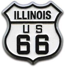 Route 66 Illinois Road Sign Fridge Magnet
