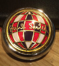Classic Mini Paul Smith front bonnet badge 9 carat gold plated