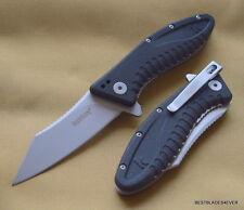 KERSHAW GRINDER A/O SPRING ASSISTED KNIFE LINERLOCK WITH POCKET CLIP