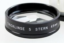 Hoya Hama Effekt Filter Tricklinse 5 x Sternfilter Stern E49mm 49mm -- OVP