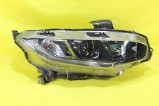 ☠️ 2018 18 2019 19 Honda Civic Right Passenger Headlight OEM *1 TAB DAMAGED*