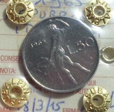 REPUBBLICA ITALIANA 50 LIRE 1965 sigillata qFDC NUMISMATICA SUBALPINA