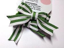 Gymboree Dandelion Wishes Line 2 Pcs Green Stripe NWT Ponytail Holder Girl Cute