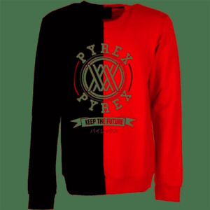 Sweat-Shirt PYREX Hommes Rouge NOIR-M