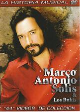 MARCO ANTONIO SOLIS Y LOS BUKIS MUSIC VIDEO DVD LA HISTORIAL MUSICAL