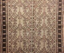 Special Samarkand - 1890s Antique Khotan Rug - East Turkestan Carpet 4.10 x 8.7