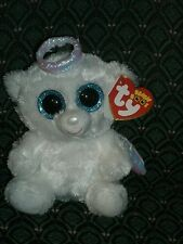 """Ty Beanie Boo ~ HALO ~ ANGEL ~ approximately 6"""" tall ~ MWMT~ Retired ~ HTF ~ '14"""