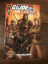 GI JOE VS COBRA #5 Fun Publications 2012   Convention Edition Exclusive Comic NM