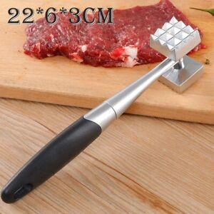 Zinc Alloy + Stainless Steel Meat Mallet Tenderizer Steak Beef Chicken Hammer