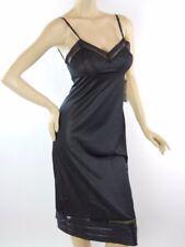 vintage NWT Lorraine full dress slip Nylon Black sz 34 cut-ups USA #838
