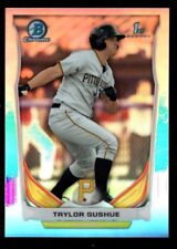 TAYLOR GUSHUE PITTSBURGH PIRATES ROOKIE REFRACTOR  SP 2014 BOWMAN CHROME MINT B6