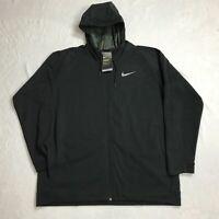Nike Therma Hoodie Sphere Max Men's Training Running Jacket Full/Zip XXL NWT