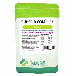 Super Vitamin B Complex (NEW) Tablets (90 pack)