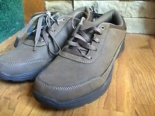 "Men's Dr Scholls ""FILO"" Oxford Lace  Up Shoes Brown - Memory Foam Size: 8 NWT"