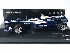 Minichamps 417 100010 Williams Cosworth FW32 Nico Hülkenberg Formula 1 2010 1:43