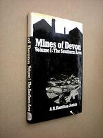 MINES OF DEVON. VOL 1 THE SOUTHERN AREA. HAMILTON JENKIN. 1974 1st ED. HB in DJ