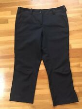 Women's NIKE Golf Crop Pant / Black / Size 6