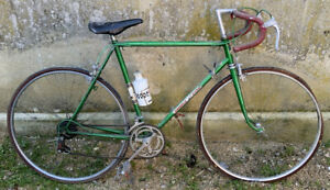 Velo course Vintage Hirondelle St Étienne No campagnolo record Eroica bike bici