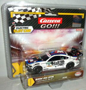 """Carrera GO 20064108 BMW M4 DTM """"T. Blomqvist, No. 31"""""""