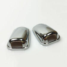 FORD FIESTA FOCUS MONDEO C-MAX KUGA CHROME WINDSCREEN WASHER JET UPGRADE CAPS
