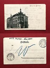 AK BAMBERG 1902 Hotel Kaiserhof am Bahnhof   ( 59340