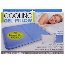 Cooling Gel Insert Pillow Soothsoft Comfort Pad Device Resting Sleeping Sleep
