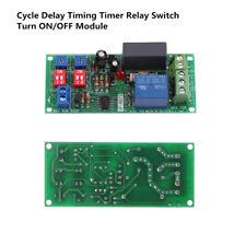 AC 110V 120V 220V 230V Cycle Delay Timing Timer Relay Switch Turn ON/OFF Module