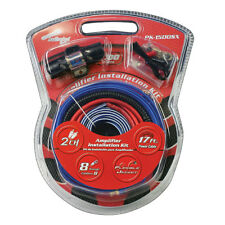 Nippon America PK1500SX Amp Wiring Kit 8 Ga.For Systems Up To 1500Watts
