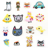 Cute Animal DIY Embroidered Sew Iron On Patches Badge Fabric Applique Sticker