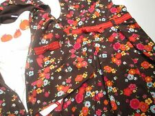 GYMBOREE girl Fall Dress Jacket Pumpkin shirt New brown corduroy Autumn10 12 BTS