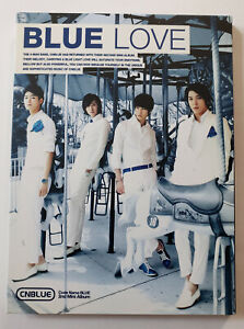 CNBLUE 2nd Mini Album Blue Love Korea Press CD - No photocard Kpop