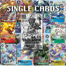 Digimon Card Game 1-Year Anniversary Promo Pack Single Cards ENGLISH