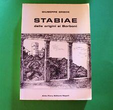 Stabiae - Giuseppe Greco - 1^ Ed. Aldo Flory 1981