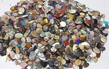 1000Ct. Natural Gemstones Cabochon Mix Pendant Size Assorted Wholesale Lot