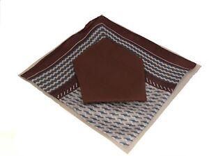 2 Piece Set Handkerchief (Solid/Pattern)