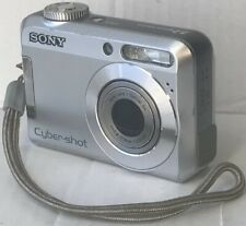 Sony Cyber-shot DSC-S650 7.2MP Digital Camera - Silver