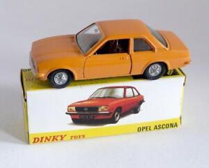 DINKY TOYS (SPAINISH) 011543 - OPEL - ASCONA - (ORANGE) - BOXED