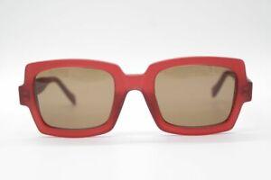 Face a Face Paris Rosso ad Angolo Occhiali da Sole Occhiali Nuovo