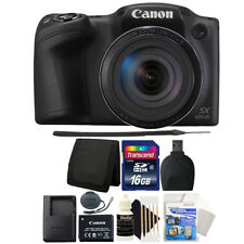 Canon PowerShot SX420 IS 20MP Digital Camera with 16GB Top Accessory Bundle