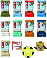 Clif Bar Organic Energy Bars Choose from 9 Flavours / Assorted & from 1-12 bars