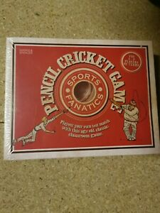 PENCIL CRICKET Game - Marks & Spencers (NEW and SEALED)